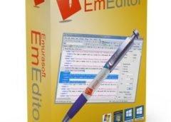 EmEditor Professional Crack 20.2.1 Free Download Latest Version [2020]