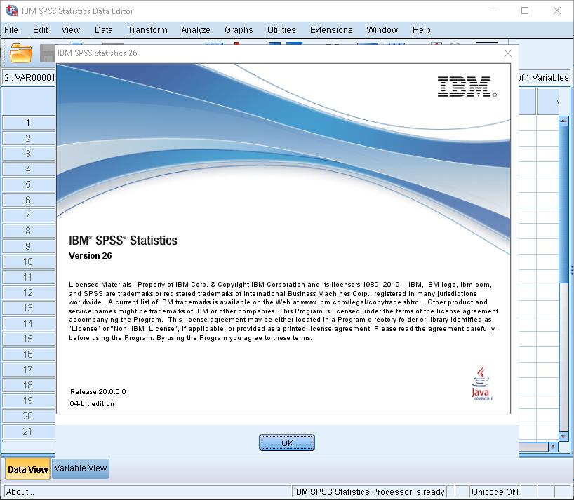SPSS Torrent Registration Key