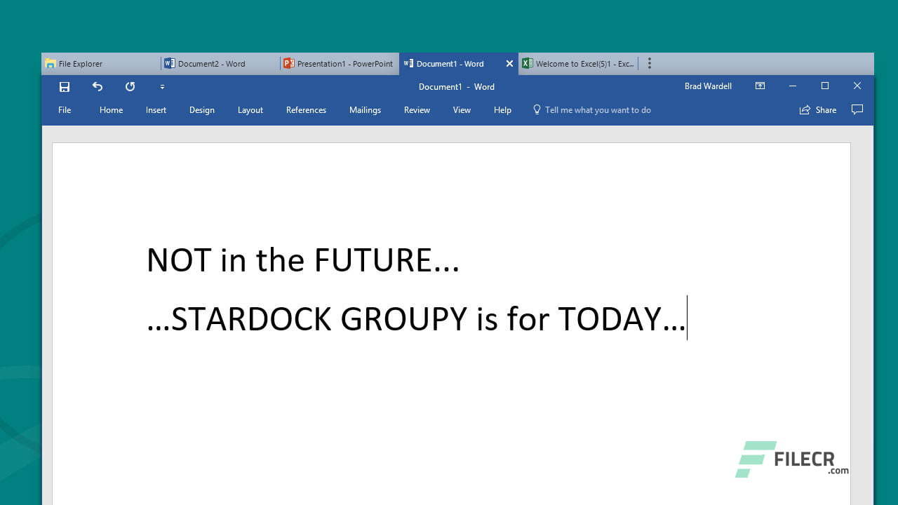 Stardock-Groupy-Registration key