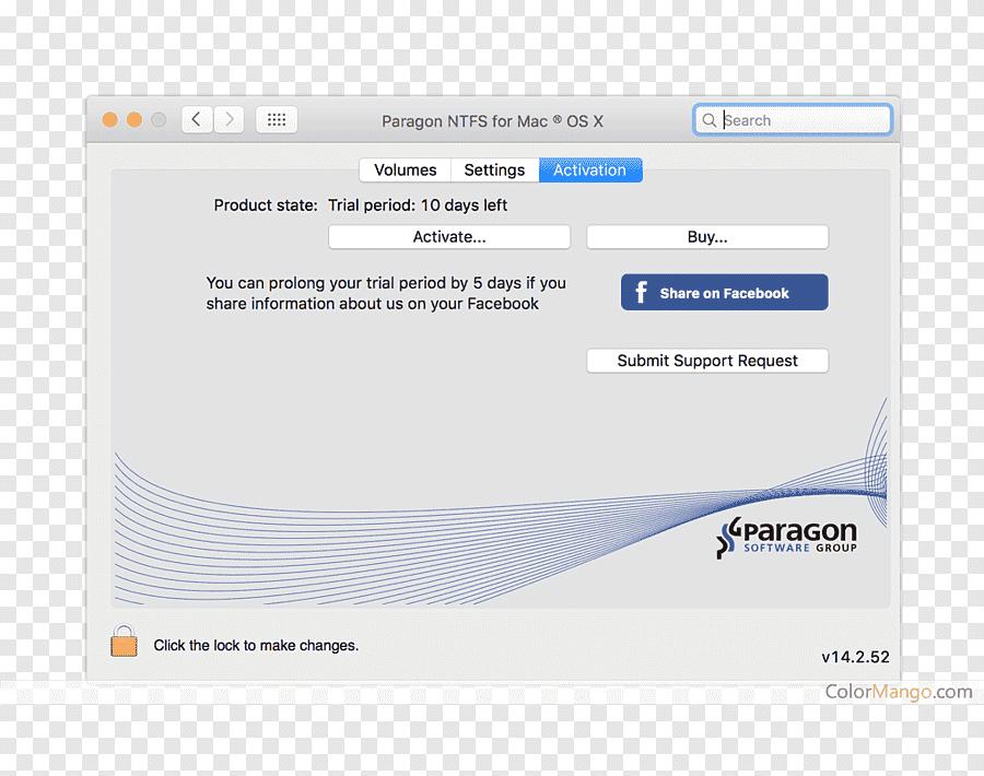paragon-ntfs-Registration key