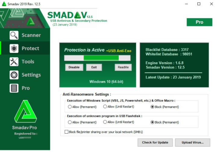 Smadav-Pro-Registration key